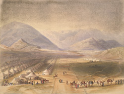 Encampment of the Kandahar Army, under General Nott